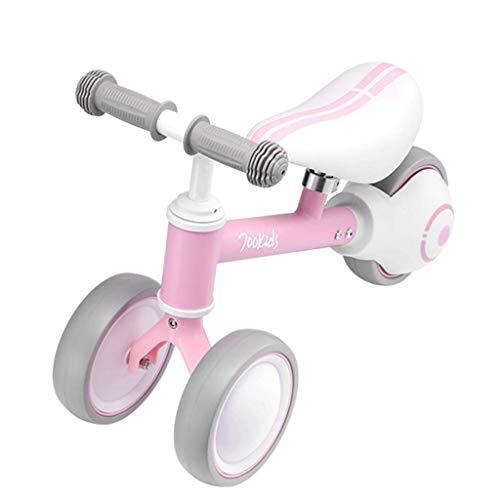 YXZQ Pink Baby Balance Bike - Vélo poussant pour 1, 2 Ans Filles, Enfants en Bas âge/Kids First Bike