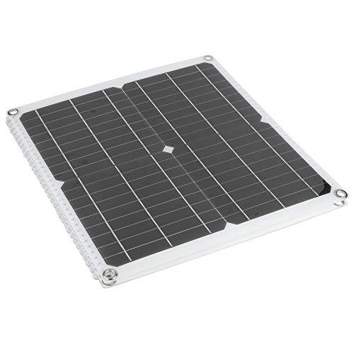 Okuyonic El Panel Solar Portátil 50W, Cargador del Panel Solar Que Acampa Plegable del Cargador Solar Durable para Acampar