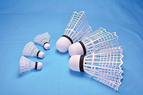2gether Jumbo Badminton Bälle, Federbälle 3xgroß/3xklein