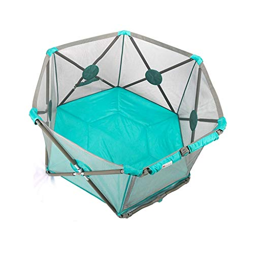 Read About JLL Playpen Portable Playard with Cushioning for Safety, for Travel, Indoor and Outdoor P...