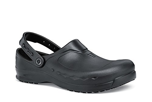 Shoes for Crews 66064-41/7 ZINC Arbeitsclogs, Größe 41 EU, Schwarz