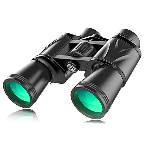 20x50 Prismáticos Ocular Grande de 50 Mm Telescopio Plegable Portátil al Aire Libre para la Caza de Senderismo