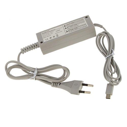 AC Casa Pared Alimentación Adaptador Cargador para Nintendo Wii U Gamepad EU...