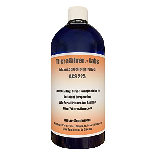 TheraSilver Labs Advanced Colloidal Silver 33 Fl Oz!