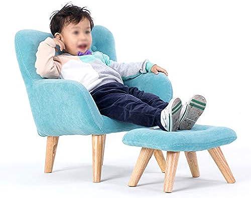 Divano Schlafsofa für Kinder, Blau mit Fu ütze, für Kinderzimmer, Schlafzimmer.
