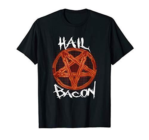 Hagel Speck Feinschmecker Fleisch & Speck Liebhaber T-Shirt