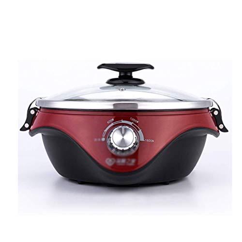 GZQDX Elektrische Hot Pot Split Elektrische hot Pot Multifunctioneel, grote capaciteit, elektrische elektrische stoommachine, elektrische skillet voor
