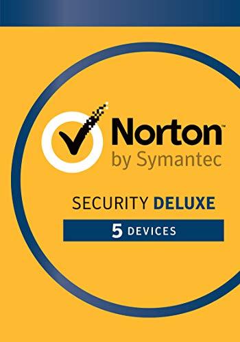 Norton Security Deluxe 5-Geräte 1 Jahr 2020 - Inklusive Antiviren- Windows | Mac | Android | iOS