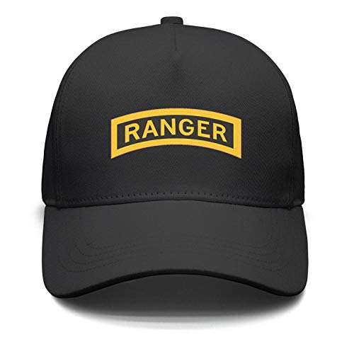 jdadaw United-States-Army-Rangers- Woman Man Baseball Caps Cotton Trucker Hats Cool Hat