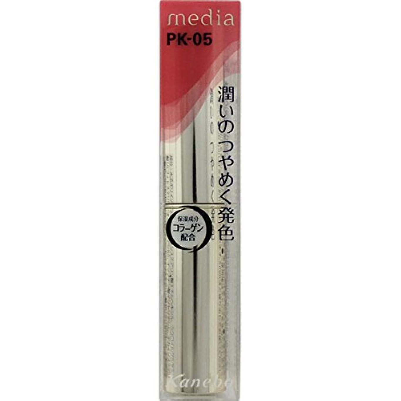 ぜいたく硫黄弾丸カネボウ メディア(media)シャイニーエッセンスリップA カラー:PK-05