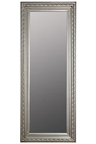 Barocker Wandspiegel Silber Standspiegel...