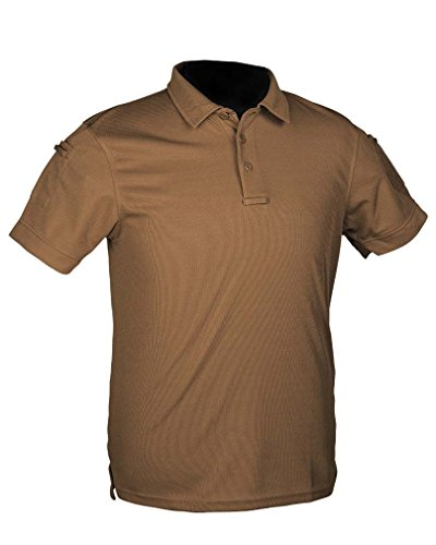 Mil-Tec Tactical Quickdry Polo Dark Coyote Taille S