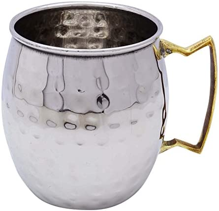 Hammered Stainless Steel Moscow Mule Mug Cup Drinkware Bar Accesories Glassware product image