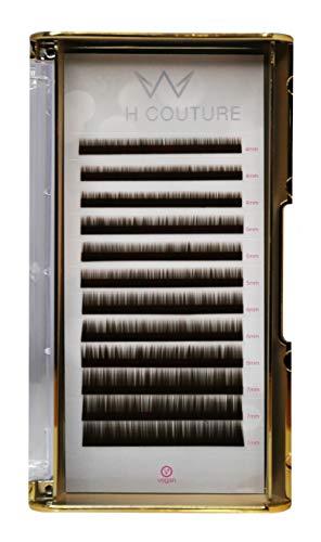 Miss Lashes Extensions pour sourcils Brun foncé 4-7 mm 35,9 g