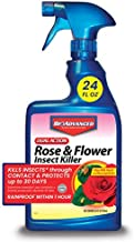 BioAdvanced 502570B Dual Action Rose & Flower Insect Killer Insecticide, 24-Ounce, Ready-to-Use