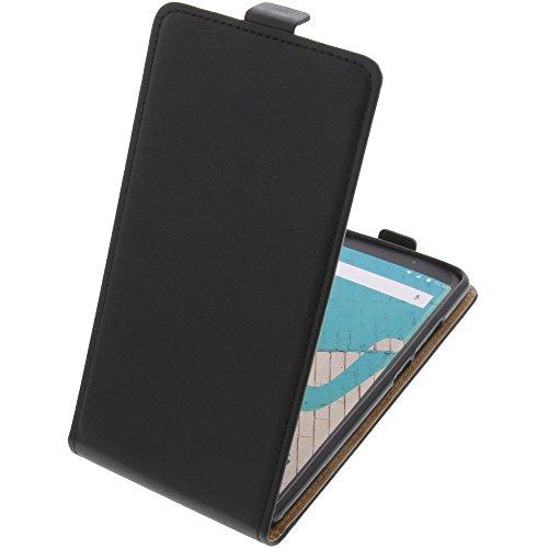 Tasche für Wiko View Max Smartphone Flipstyle Schutz Hülle schwarz