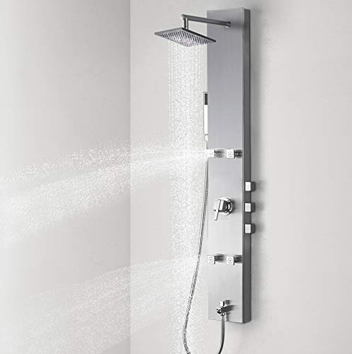 Vantory Shower Panel System Tower Column with...