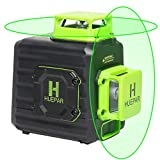 Huepar 2x360° レーザー墨出し器 グリーン 緑色 レーザー クロスライン 自動水平 高輝度 高精度 ミニ型 2電源方式 Type-C充電可能 B02CG