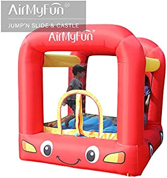 AirMyFun Inflatable Bounce House with Air Blower