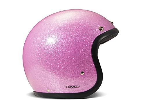 DMD Motorradhelm, Unisex, Glitter Pink, Größe S