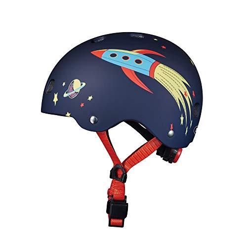 Micro - Casco para Patinete/Bicicleta (S, Rocket)