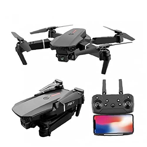 RC Quadcopter, pieghevole professionale E525 PRO mini elicottero giocattolo Drone con 4K HD Camera 2 batterie ultra obiettivo grandangolare