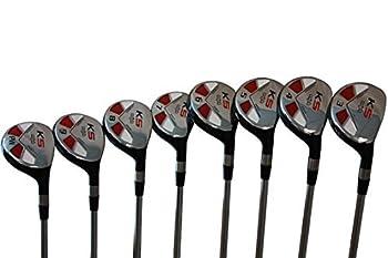 Majek Golf Senior Men's All Hybrid Complete Full Set