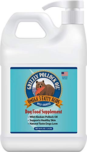 Grizzly Pollock Oil Supplement for Dogs