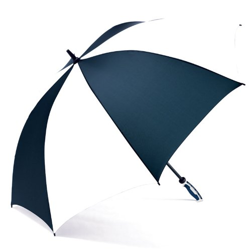 ShedRain Umbrellas Luggage RainEssentials Golf Classic Umbrella, Navy/White, One Size