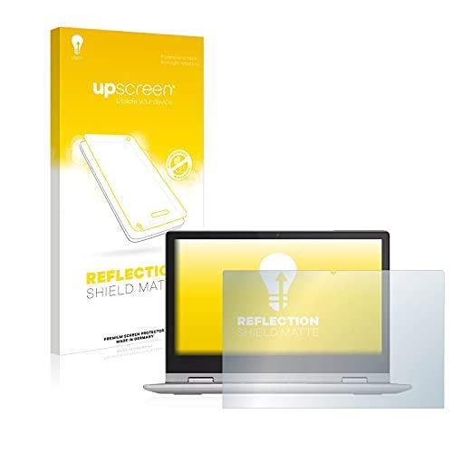 upscreen Entspiegelungs-Schutzfolie kompatibel mit Lenovo IdeaPad Flex 3 11IGL05 – Anti-Reflex Bildschirmschutz-Folie Matt