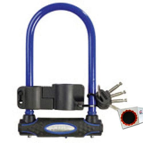 keine Angabe Master Lock Bügelschloss 8195 13mm x 210mm x 110mm Schlüssel blau 1,05kg Fahrrad