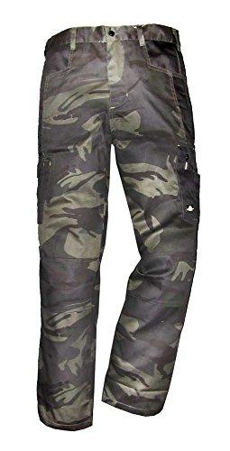 Uncle Sam Werkbroek Oliv Camouflage/Zwart