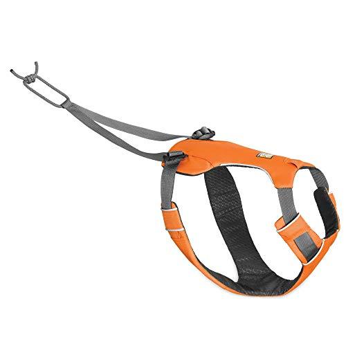 Ruffwear Omnijore Dog Harness Zuggeschirr, orange Poppy, S (56-69cm)
