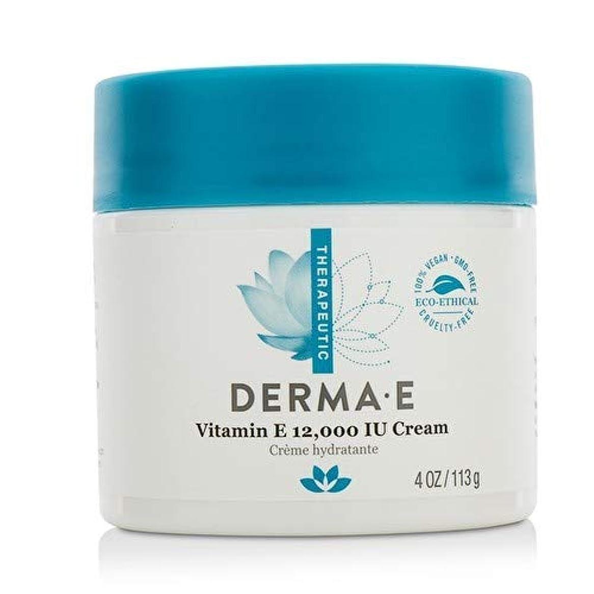 チューリップシールドいうDerma E Therapeutic Vitamin E 12,000 IU Cream 113g/4oz並行輸入品