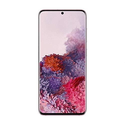 Samsung Galaxy S20 4G 128Go Rose + BON D'ACHAT AMAZON - Smartphone Portable débloqué - Compatible Réseau Français - Ecran: 6,2 pouces - Double Nano SIM - Android