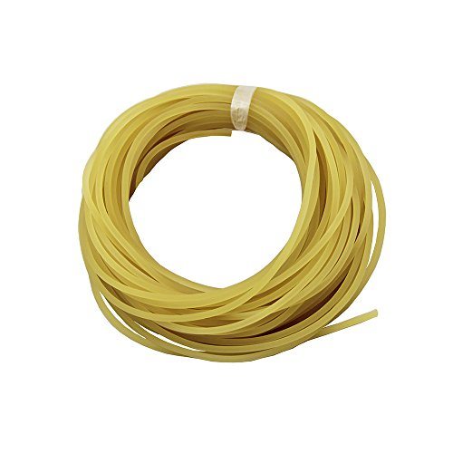 UP100 10 Meters Diameter 2mm/2.5mm/3mm/3.5mm Plain Traditional Solid Elastic Rubber Rope Tied Fishing Line(2mm)