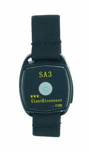 Reloj medidor de glucosa con alarma