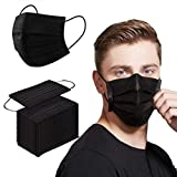 Disposable face masks are made from 3 layers of soft and breathable non-woven fabric. These disposable face masks feature a pleated, expandable design for a comfortable and lightweight fit. Ear loops closures feature two elastic loops on either end o...
