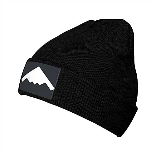 B2 Spirit Stealth Bomber Top View Fashion Fall Autumn Winter Leisure Warmth Beanie - Unisex Cuffed Plain Skull Knit Hat Cap Black