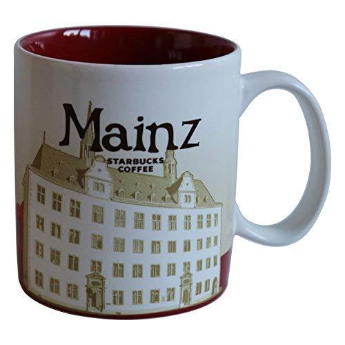 Starbucks Kaffeebecher Kaffee City Mug Tee Tasse Becher Icon Series Mainz Deutschland Germany