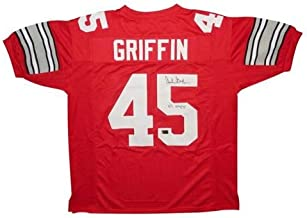 archie griffin signed jersey