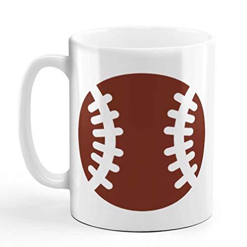 N\A Taza de café Juego de Pelota de béisbol de 11 onzas Diseño de Taza de té de cerámica Solamente