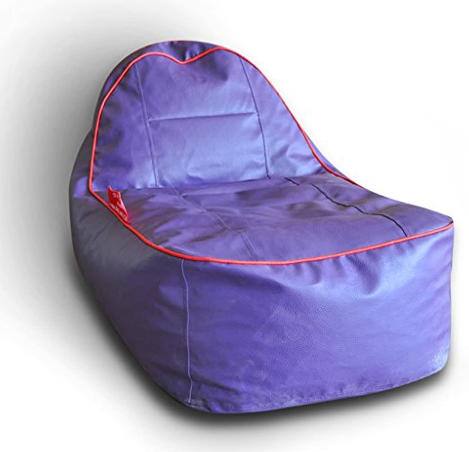 Style Homez Video Rocker for Kids Purple   Red Piping Cover Only