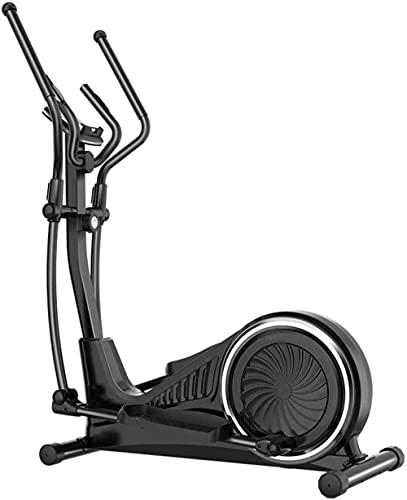 Multifuncional control magnético cross trainer 16 niveles de resistencia ajustable máquina elíptica espacio paseo máquina aeróbica bicicleta ejercicio caminadora portátil ultra silencioso