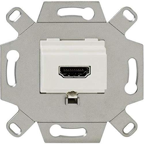 Rutenbeck 17010553 Anschlussdose 1-Fach, KM-HDMI Up 0 rw