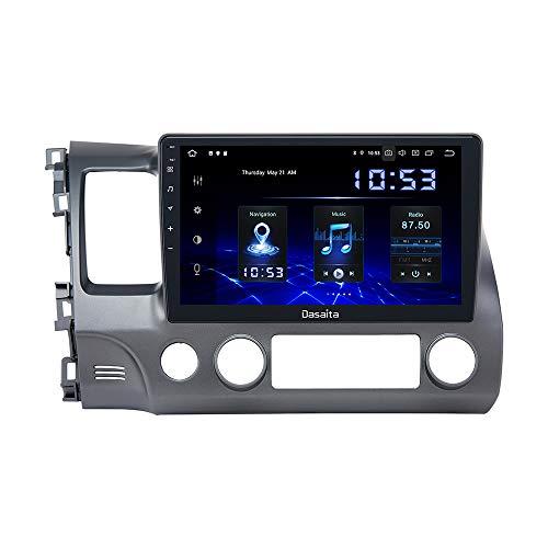"Dasaita Android 10.0 Car Stereo for Honda Civic 2006 2007 2008 2009 2010 2011 Radio with 10.2"" Screen & GPS Navigation & 4GB Ram 32GB ROM Head Unit (Honda Civic 2006 to 2011)"