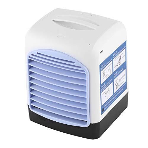Oumefar Ventilador de escritorio, exquisito ventilador de refrigeración de mesa enfriador de aire, multifuncional dormitorio oficina para el hogar