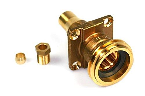 Füllventil ACME für Aussenbetankung (Topf) gerade für 8mm Cu-Leitung, LPG Autogas GPL
