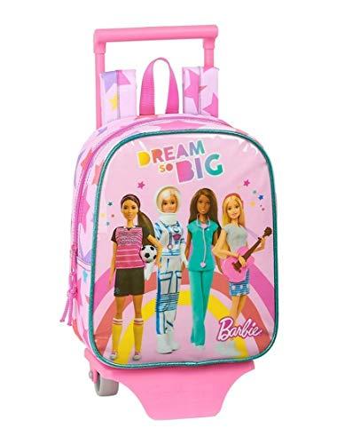 Barbie Zaino Trolley Asilo Staccabile 10 x 22 x 28 cm. 490 grammi