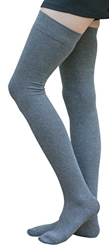 AM Landen Womens Thigh High Socks Over Knee High Socks True Thigh Socks Elegant Sexy Stockings